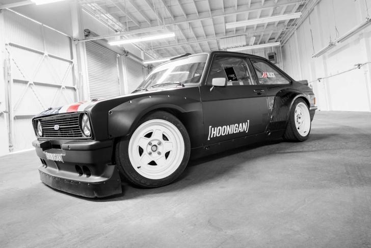 1978 Gymkahan Ford Escort. Hoonigan Racing 04