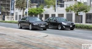 Hyundai Centennial vs Audi A8