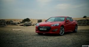 Hyundai Genesis Coupe. Dubai, UAE
