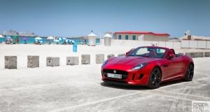 Jaguar F-Type. Dubai, UAE
