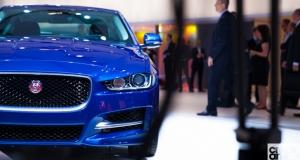 Jaguar Land Rover at Paris Motor Show