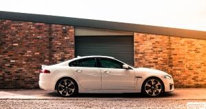 Jaguar XFR-S. Totally Unhinged