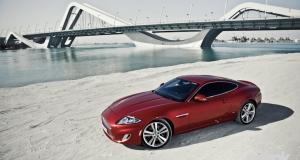 Jaguar XK. Dubai, UAE
