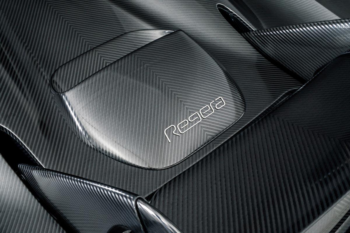 Koenigsegg Regera revealed with polished KNC-8