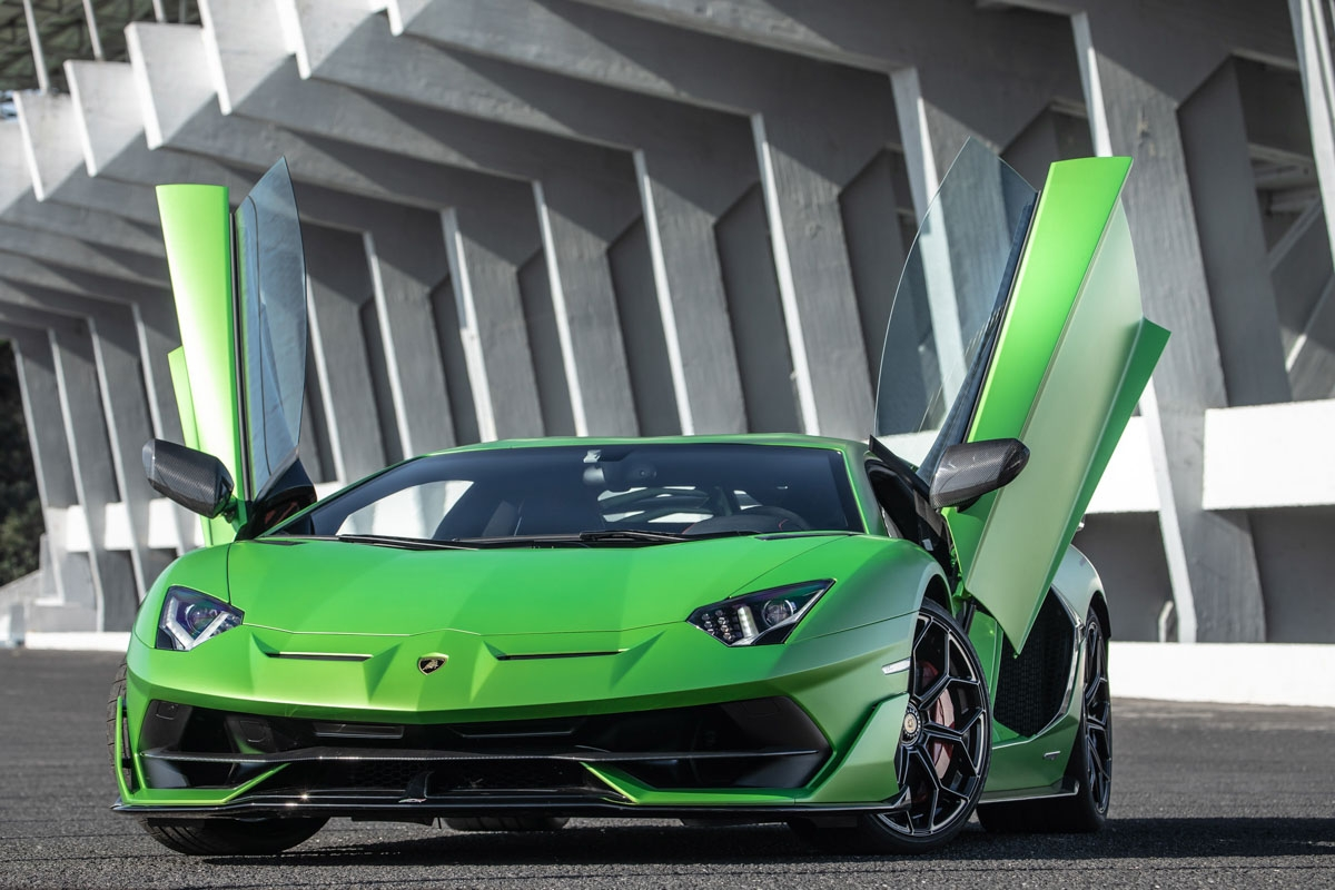 Lamborghini Aventador SVJ review-22