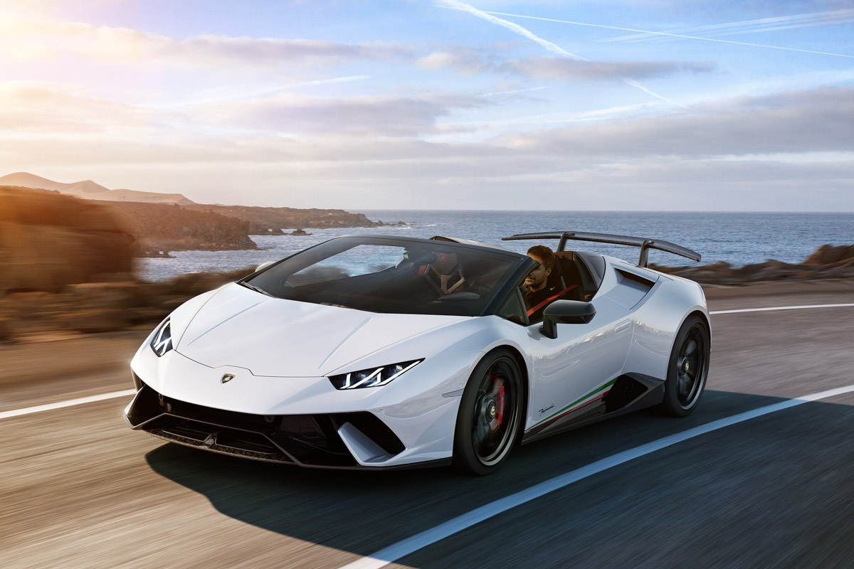 lamborghini huracan performante spyder unveiled at 2018 geneva motor show. Black Bedroom Furniture Sets. Home Design Ideas