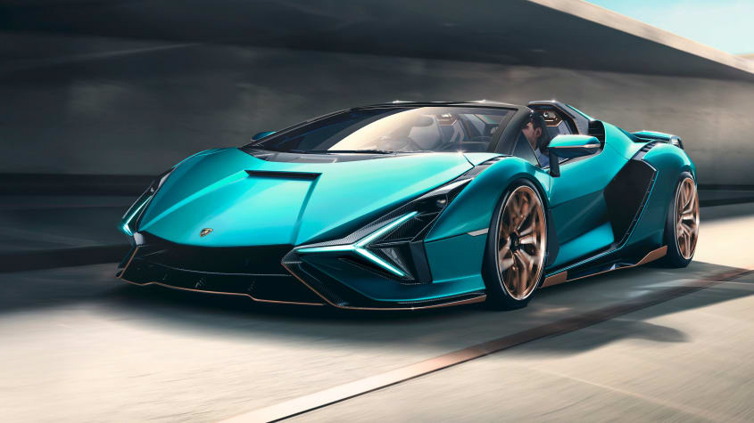 Lamborghini-Sián-Roadster-1