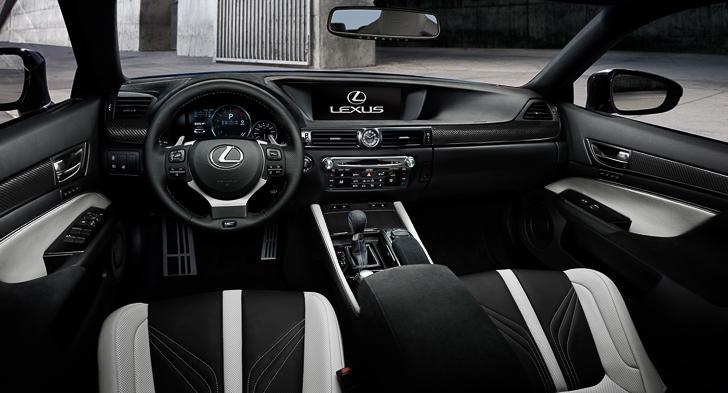 Lexus GS F 06