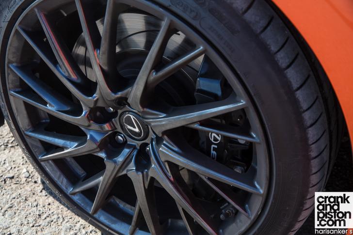 Lexus RC F crankandpiston 08