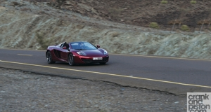 McLaren 12C Spider. First Drive. Middle East