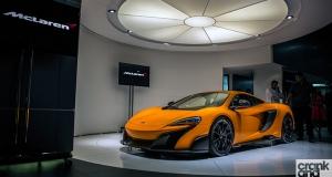 McLaren 675LT Launch. Dubai