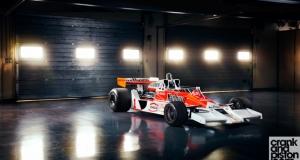 McLaren M26 James Hunt. Dubai Autodrome