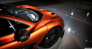 McLaren P1. Alone time in Dubai