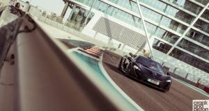 McLaren P1 Yas Marina Circuit