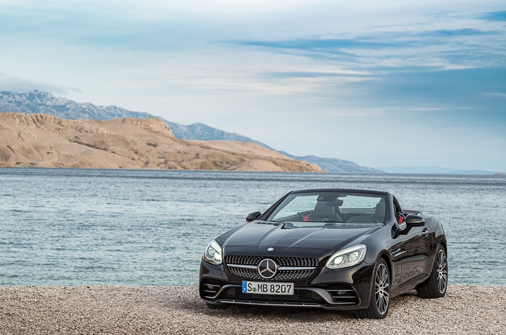 Mercedes-Benz SLC Roadster 12