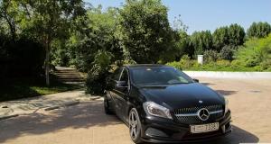 Mercedes-Benz A250 Sport. Dubai, UAE