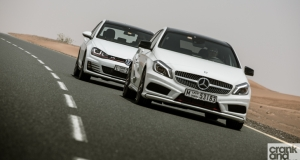 Mercedes-Benz A250 Sport vs Volkswagen Golf GTI
