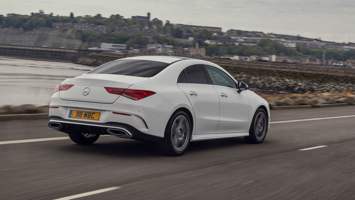 New Mercedes-Benz CLA250 Coupe 2020 review