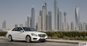 Mercedes-Benz E300. Dubai, UAE