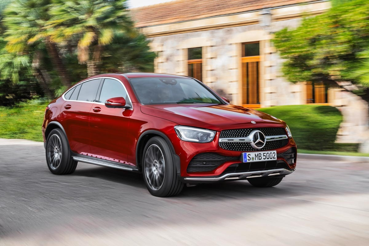 mercedes benz glc coupe suv gets new engines. Black Bedroom Furniture Sets. Home Design Ideas