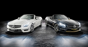 Mercedes-Benz SL63 AMG Hamilton and Rosberg Editions