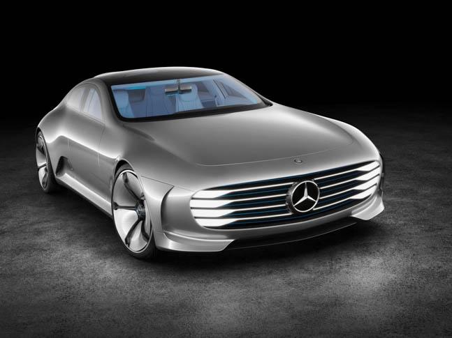 "Mercedes-Benz ""Concept IAA"" (Intelligent Aerodynamic Automobile)"