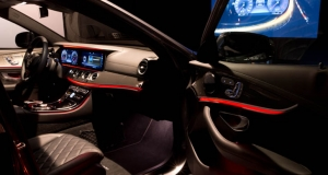 Mercedes E-Class interior preview