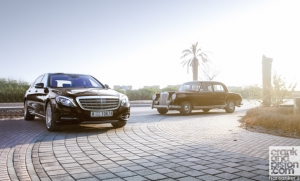 Mercedes-Maybach S600 & Mercedes W180 220S