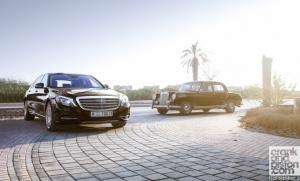 Mercedes-Maybach S600 & Mercedes W180 220S