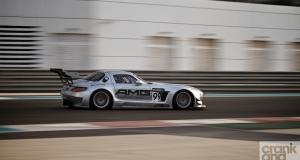 Mercedes SLS AMG GT3. Driven. Yas Marina. UAE