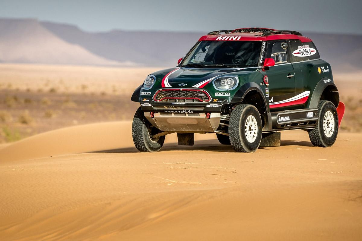 Mini John Cooper Works Dakar rally competitors launched