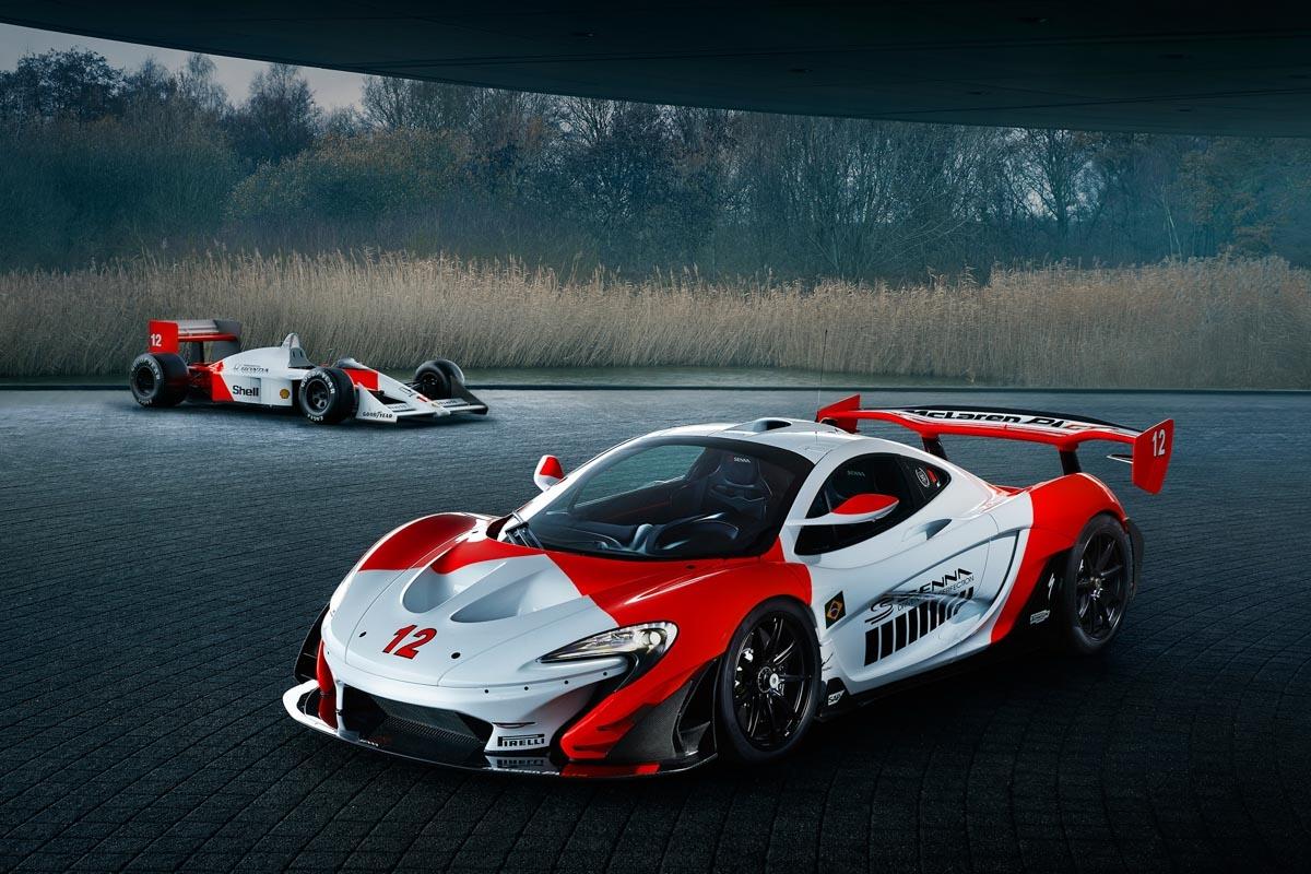 MSO reveals bespoke McLaren P1 GTR-1