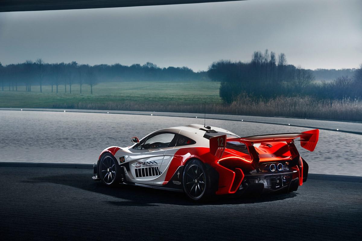 MSO reveals bespoke McLaren P1 GTR-2