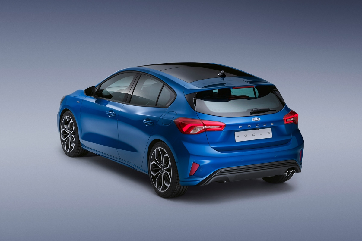 new 2018 ford focus revealed all new rival for the vw golf. Black Bedroom Furniture Sets. Home Design Ideas