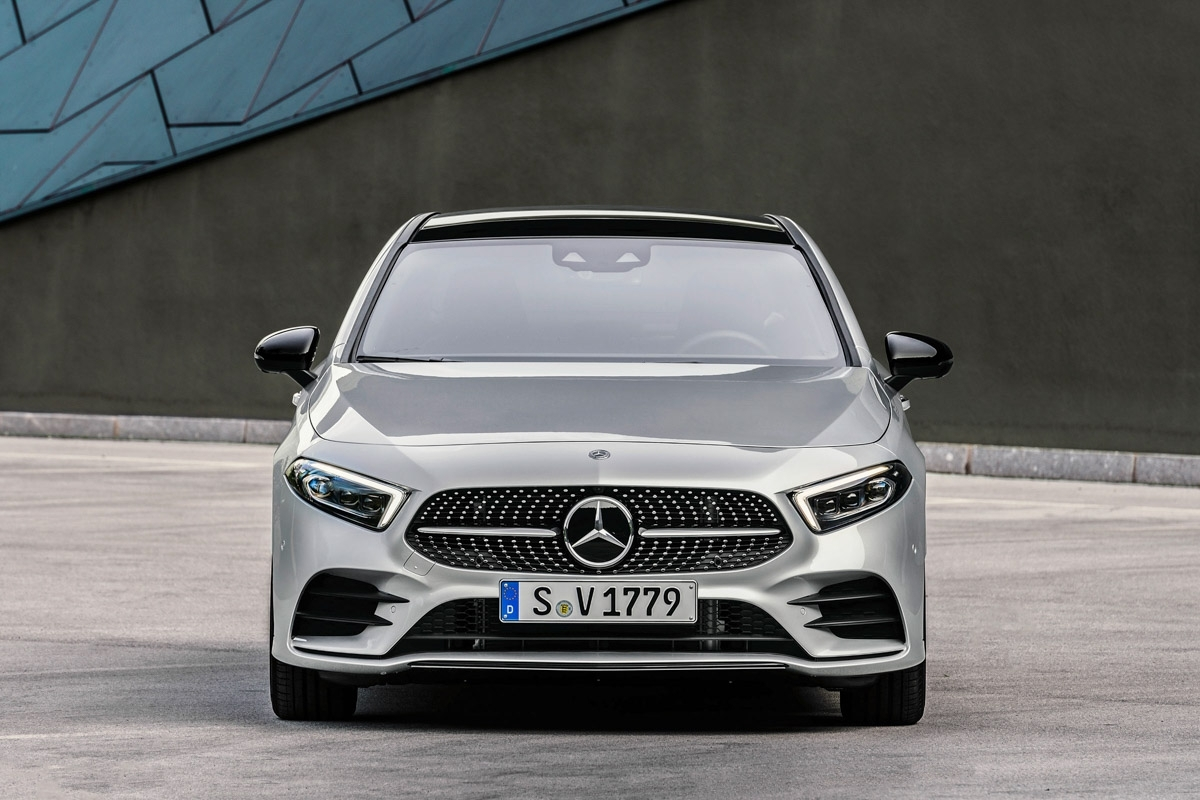 New 2018 Mercedes Benz A Class Saloon Revealed