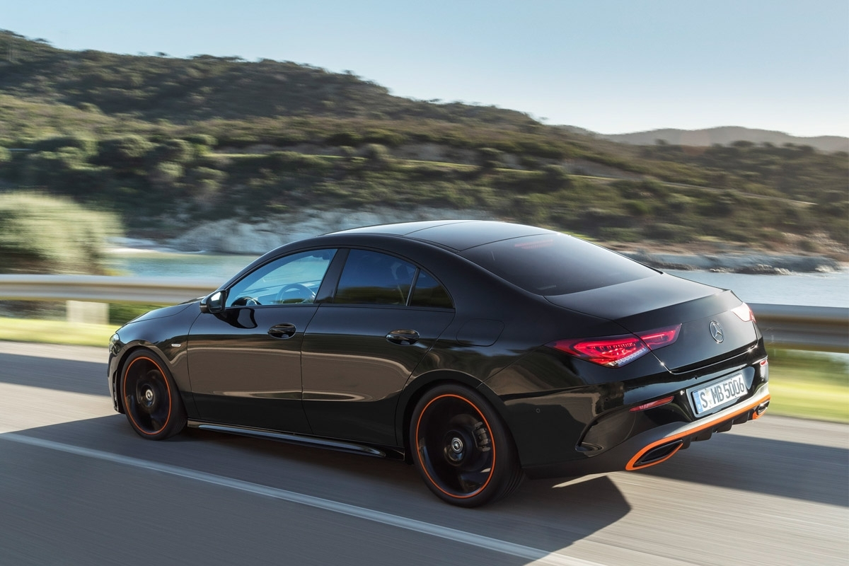 new 2018 mercedes cla revealed rejigged sibling to the a. Black Bedroom Furniture Sets. Home Design Ideas