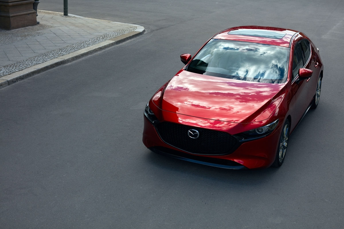 new 2019 mazda 3 revealed makes the golf and focus look dull. Black Bedroom Furniture Sets. Home Design Ideas
