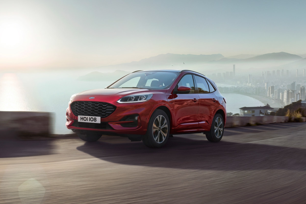 New Ford Kuga revealed-1