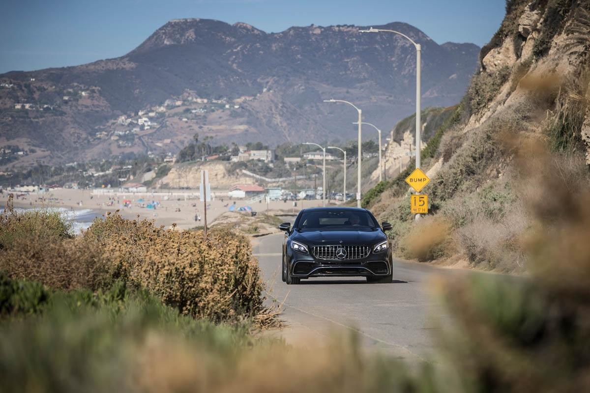 PFV die neue S-Klasse Cabriolet und S-Klasse Coupe Kalifornien 2017 // Press test drive the new S-Class Cabriolet und S-Class Coupe California 2017