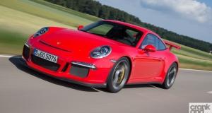 New Porsche 911 GT3. Germany. Driving