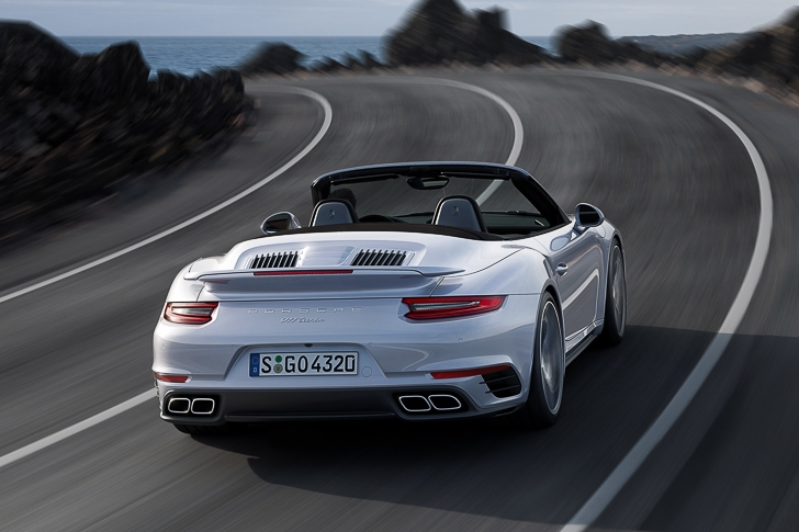 New Porsche 911 Turbo S-1