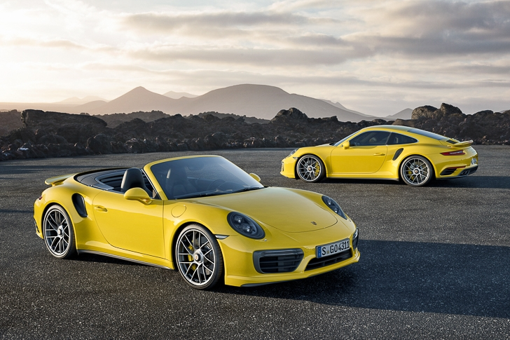 New Porsche 911 Turbo S-10