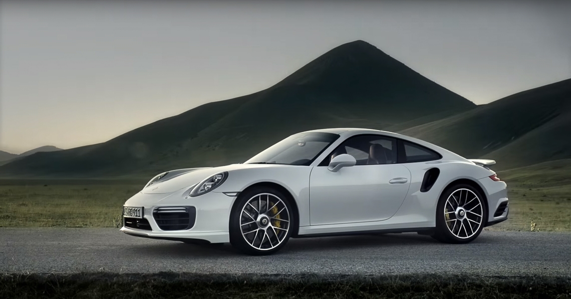 New Porsche 911 Turbo S-11