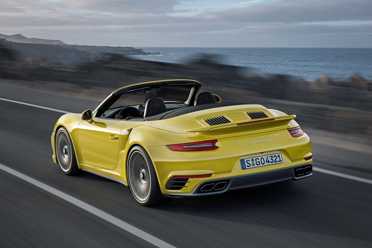 New Porsche 911 Turbo S-2