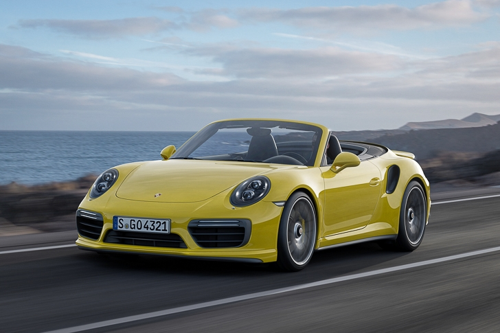 New Porsche 911 Turbo S-3