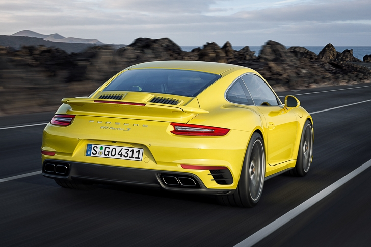 New Porsche 911 Turbo S-4