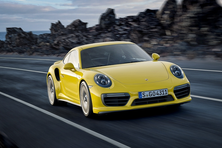 New Porsche 911 Turbo S-6