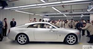 New Rolls-Royce Wraith. Goodwood, UK