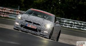 Nissan GT-R Nismo. Nurburgring