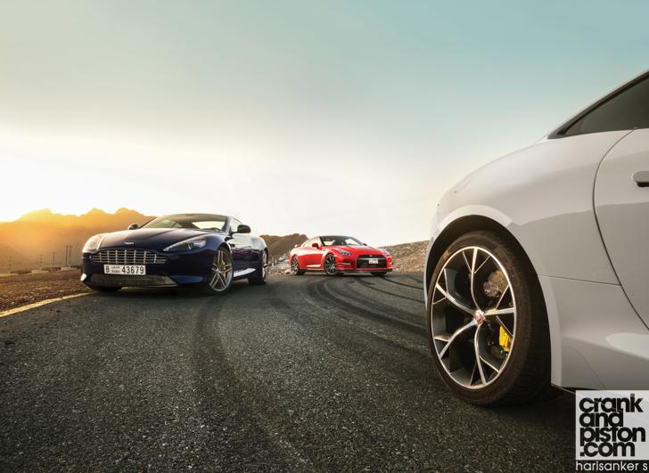 Nissan Gt R Vs Jaguar F Type V8 R Vs Aston Martin Db9